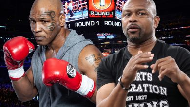 Photo of Mike Tyson vs Roy Jones Jr LIVE RESULTS: UK begin time, date, ring walks, guidelines, dwell stream and undercard together with Jake Paul vs Nate Robinson combat