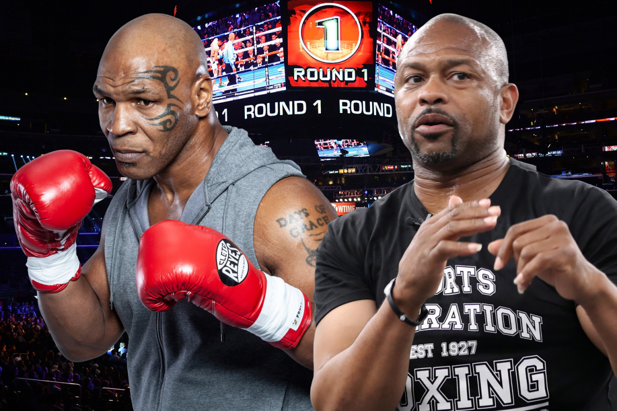 Mike Tyson vs Roy Jones Jr LIVE RESULTS: UK start time, date, ring walks, rules, live stream and undercard including Jake Paul vs Nate Robinson fight