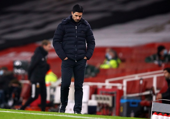 Mikel Arteta not worried about being sacked as Arsenal make worst EVER start to a Premier League season