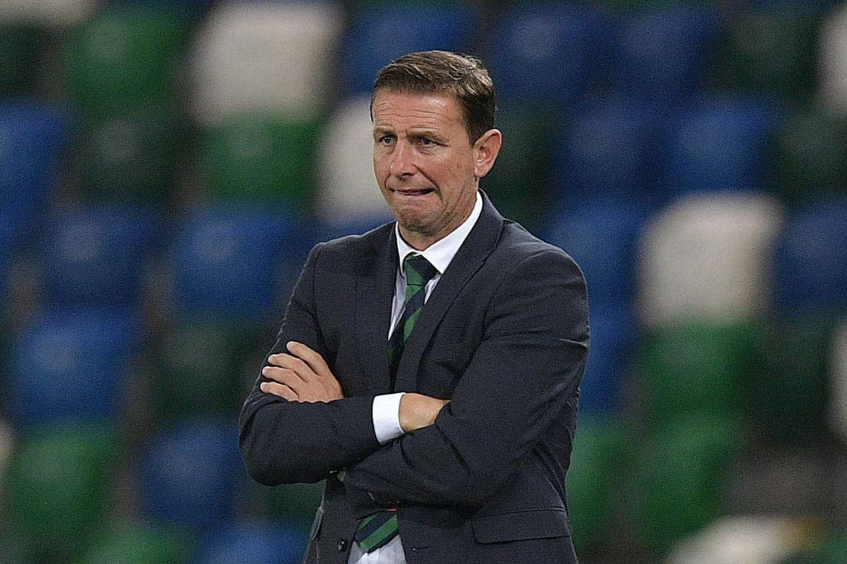 Northern Ireland relegated from Nations League Group B1 to League C as UEFA award Romania win over Norway