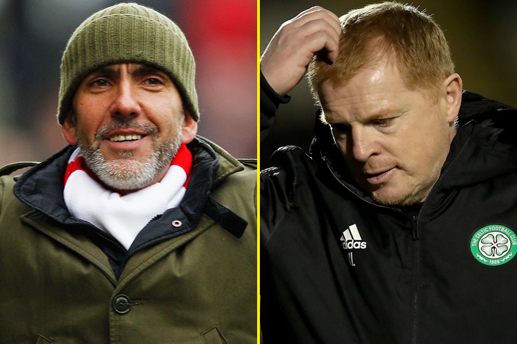 Paolo Di Canio tipped for Celtic job, while Simon Jordan says Eddie Howe is 'not a good candidate' to replace under-fire Neil Lennon