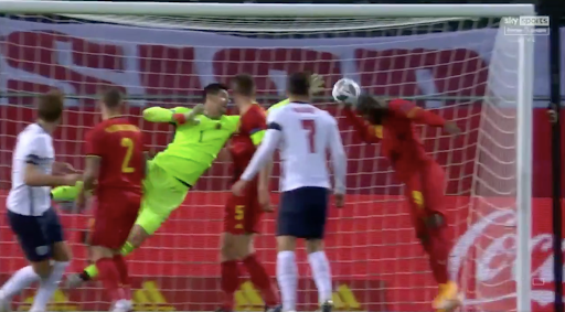 Romelu Lukaku gets assist and makes goal line clearance inside a minute in Belgium's Nations League clash vs England