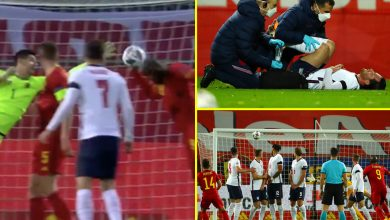 Photo of Romelu Lukaku shines at each ends, Ben Chilwell injured – England's unhealthy luck in Nations League defeat to Belgium