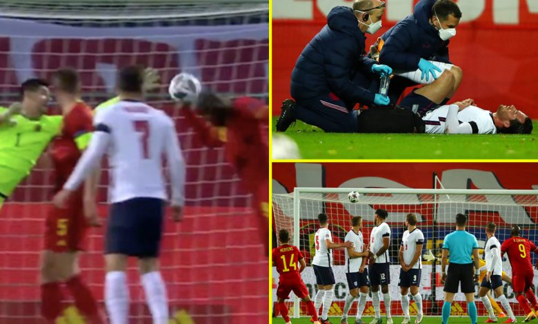 Romelu Lukaku shines at both ends, Ben Chilwell injured – England's bad luck in Nations League defeat to Belgium
