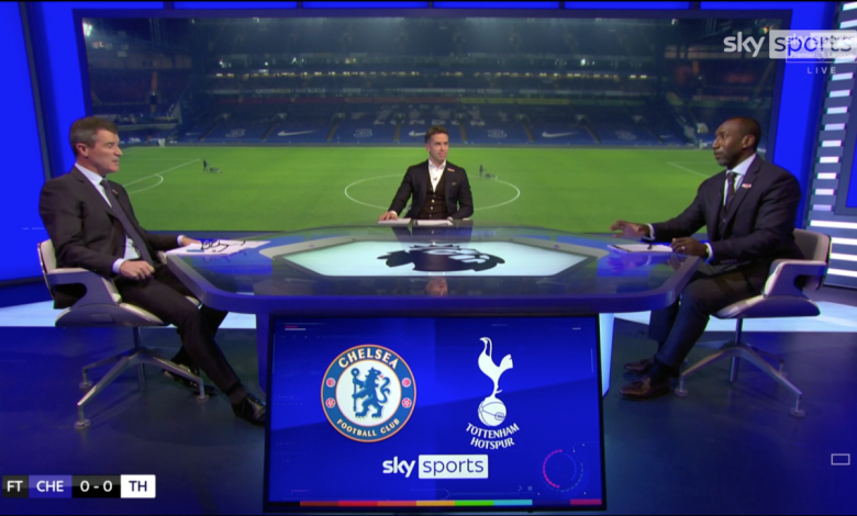 Roy Keane says Jose Mourinho is playing 'mind games' following Tottenham's draw vs Chelsea as Manchester United legend discredits Jimmy Floyd Hasselbaink's title claim
