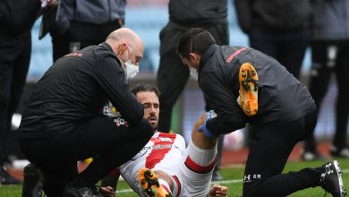 Photo of Southampton affirm Danny Ings set for '4 to 6 weeks' out with knee damage as Ralph Hasenhuttl reveals striker can have surgical procedure