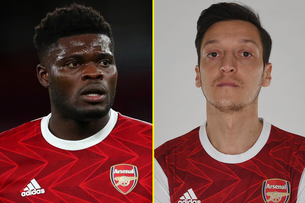 Thomas Partey backed to play key role in reinvigorating Mesut Ozil's Arsenal career as Tony Adams calls on Mikel Arteta to reinstate World Cup winner