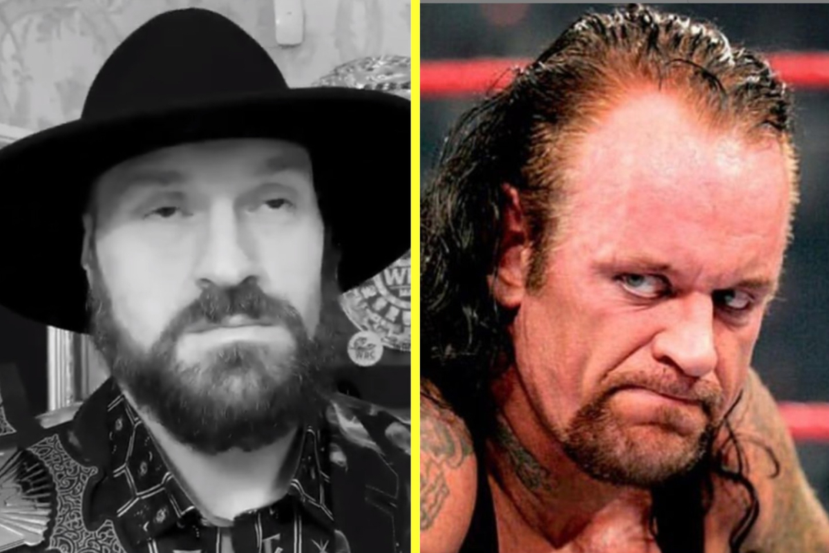 Tyson Fury pays respect to WWE legend The Undertaker on his 30th anniversary – but some fans preferred his tribute in first Deontay Wilder clash