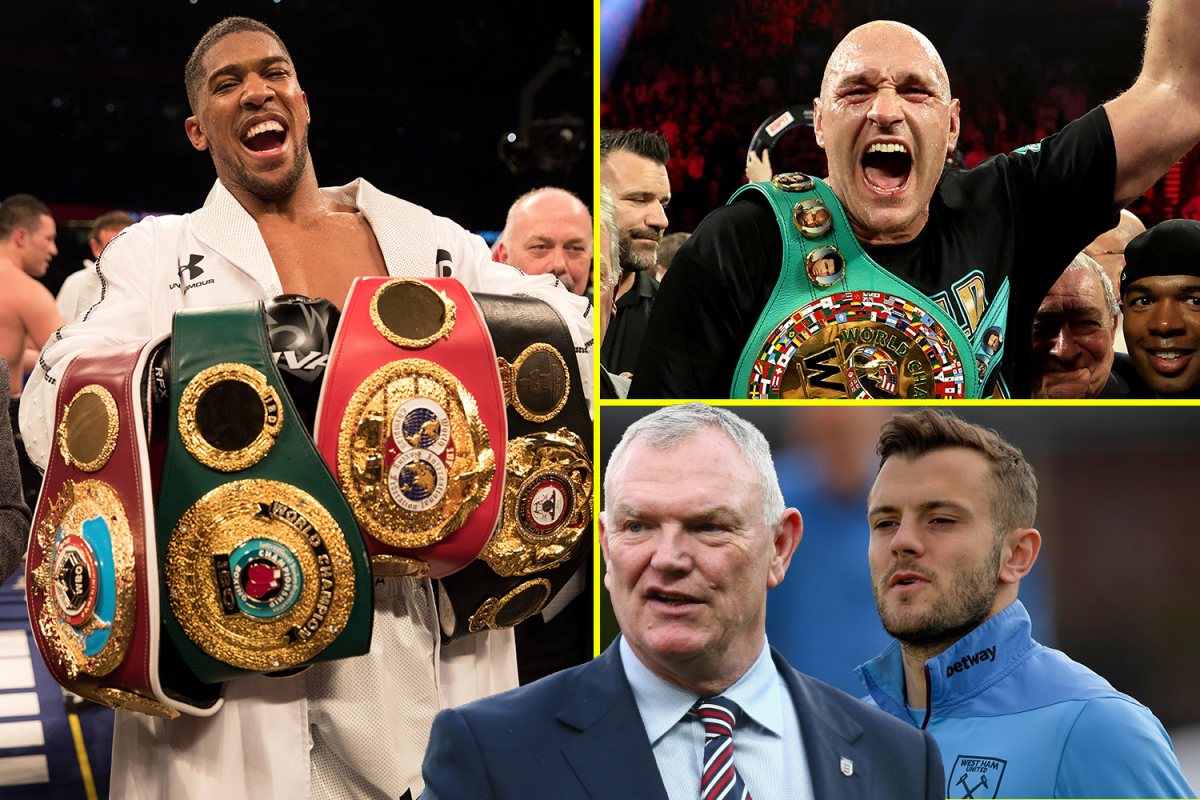Warren provides Tyson Fury vs Anthony Joshua update, Arsenal hero Wilshere 'could never' join Tottenham, black FA chairman would be 'huge step'
