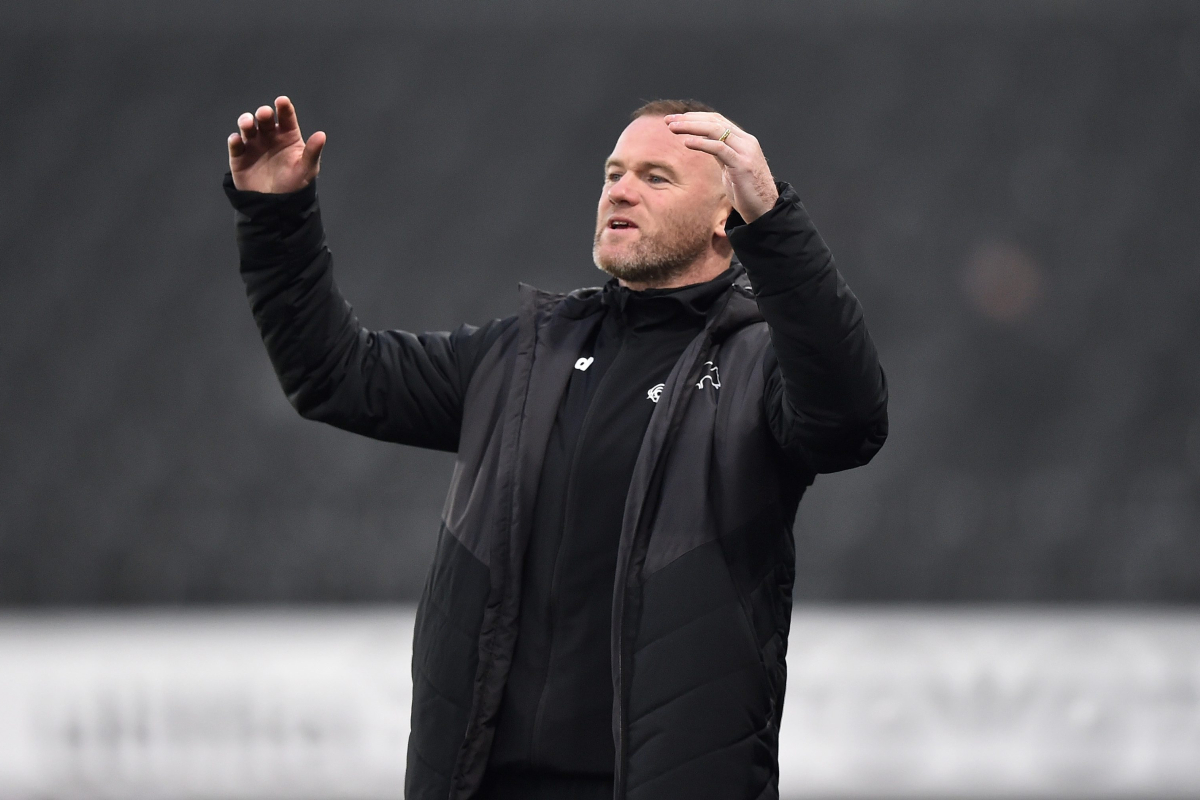 Wayne Rooney denied win in first match as interim Derby County manager as Rams are pegged back by fellow Championship strugglers
