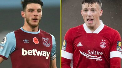 Photo of West Ham legend identifies 'very best alternative' for Declan Rice in highly-rated Aberdeen ace Lewis Ferguson