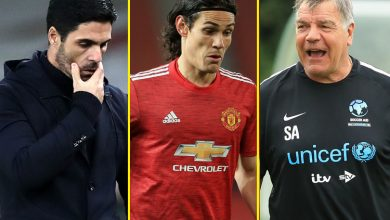 Photo of Allardyce speaks to talkSPORT, Cavani charged by FA, Man United tipped for title, Arteta blasted as Benitez backed for Arsenal job – switch information and soccer gossip LIVE