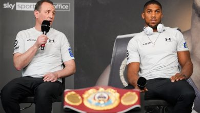 Photo of Anthony Joshua's coach Rob McCracken reacts to comparisons with Manchester United icon Sir Alex Ferguson forward of Kubrat Pulev battle