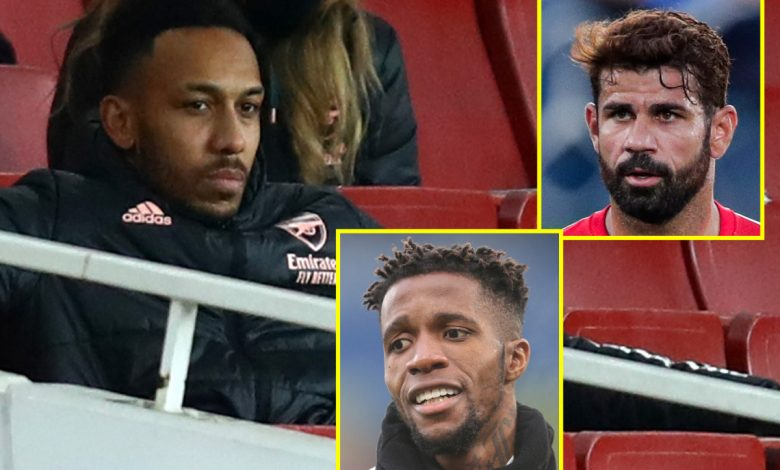 Arsenal eye Diego Costa on free transfer as Atletico Madrid release ex-Chelsea striker, 'Aubameyang should stay benched', Zaha linked with Milan, Liverpool appoint new head of recovery