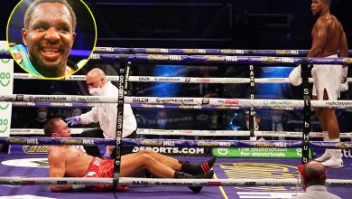 Photo of Dillian Whyte reacts to Anthony Joshua's KO of Kubrat Pulev, questions 'unusual efficiency' however praises champion