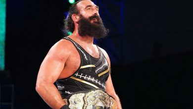 Photo of Former WWE star Brodie Lee, born Jonathan Huber, dies aged 41 on account of 'non COVID associated lung difficulty'