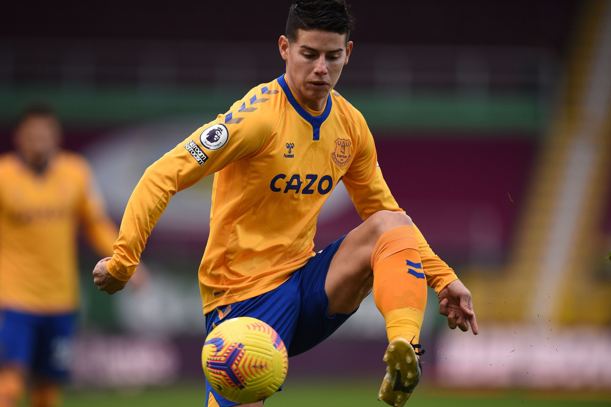 James Rodriguez accused of being 'Everton's Mesut Ozil' and a defensive liability for Carlo Ancelotti due to work rate