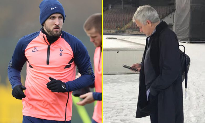 Jose Mourinho hits out at Tottenham players on Instagram again and provides Harry Kane fitness update ahead of Arsenal clash