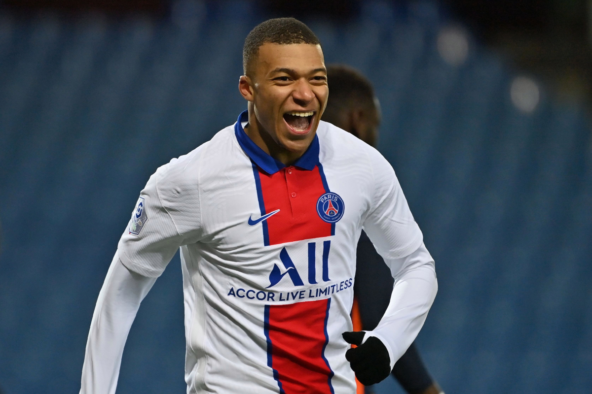 Kylian Mbappe 'in talks' over new contract amid Liverpool and Real Madrid links as Paris Saint-Germain star scores 100th goal for club