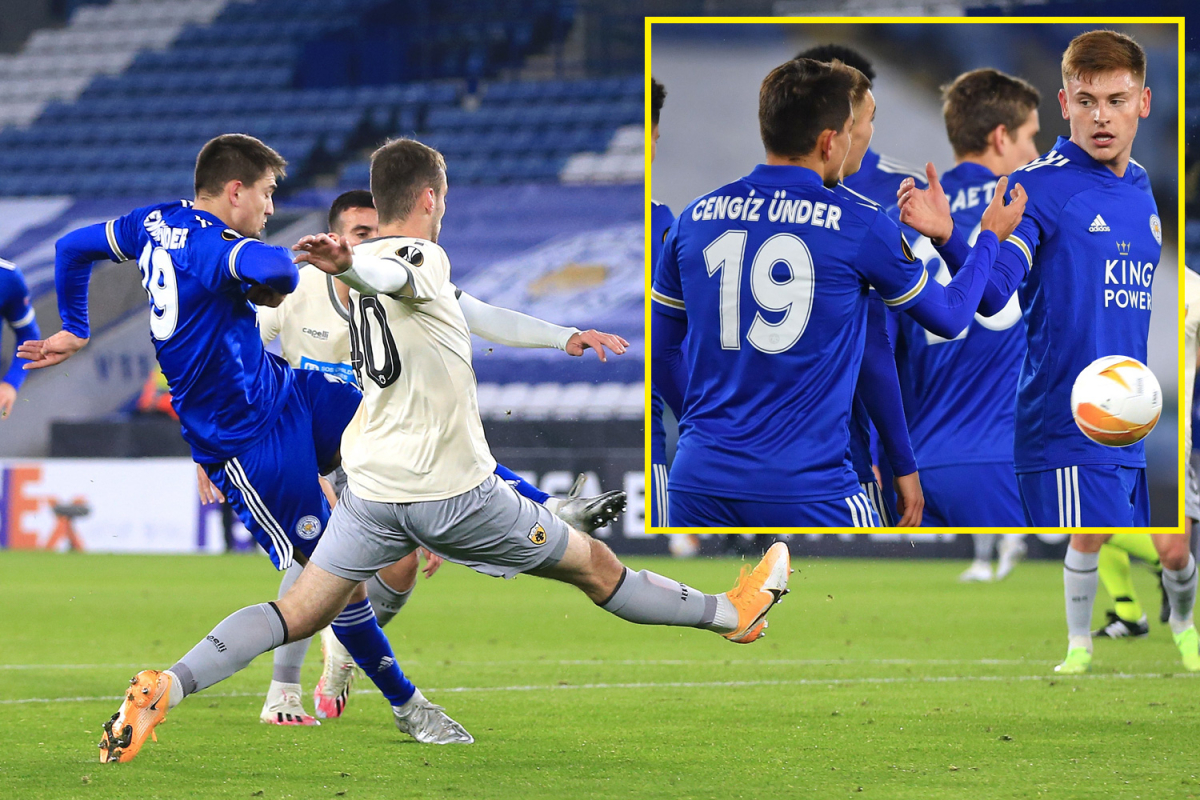 Leicester City win Europa League group to earn favourable knockout stage draw after dispatching AEK Athens