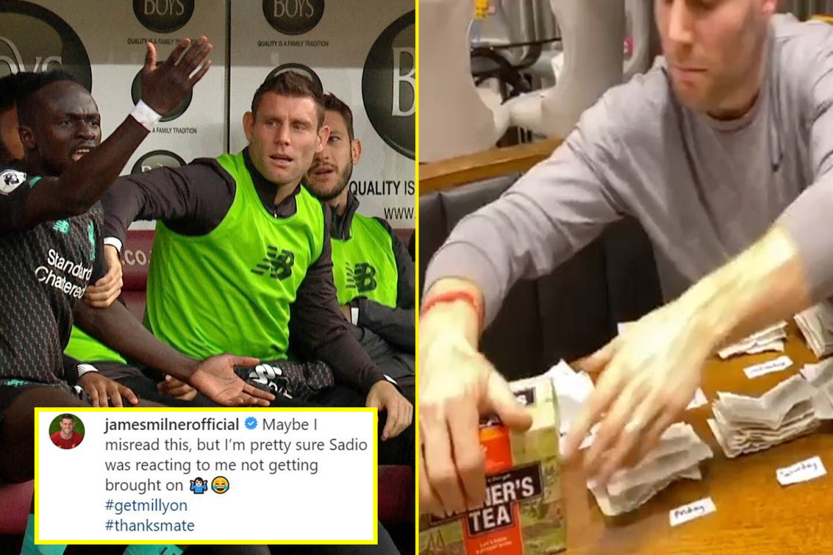 Liverpool midfielder James Milner is the king of Twitter and Instagram from rationing tea bags to enjoying 'a boring' Christmas