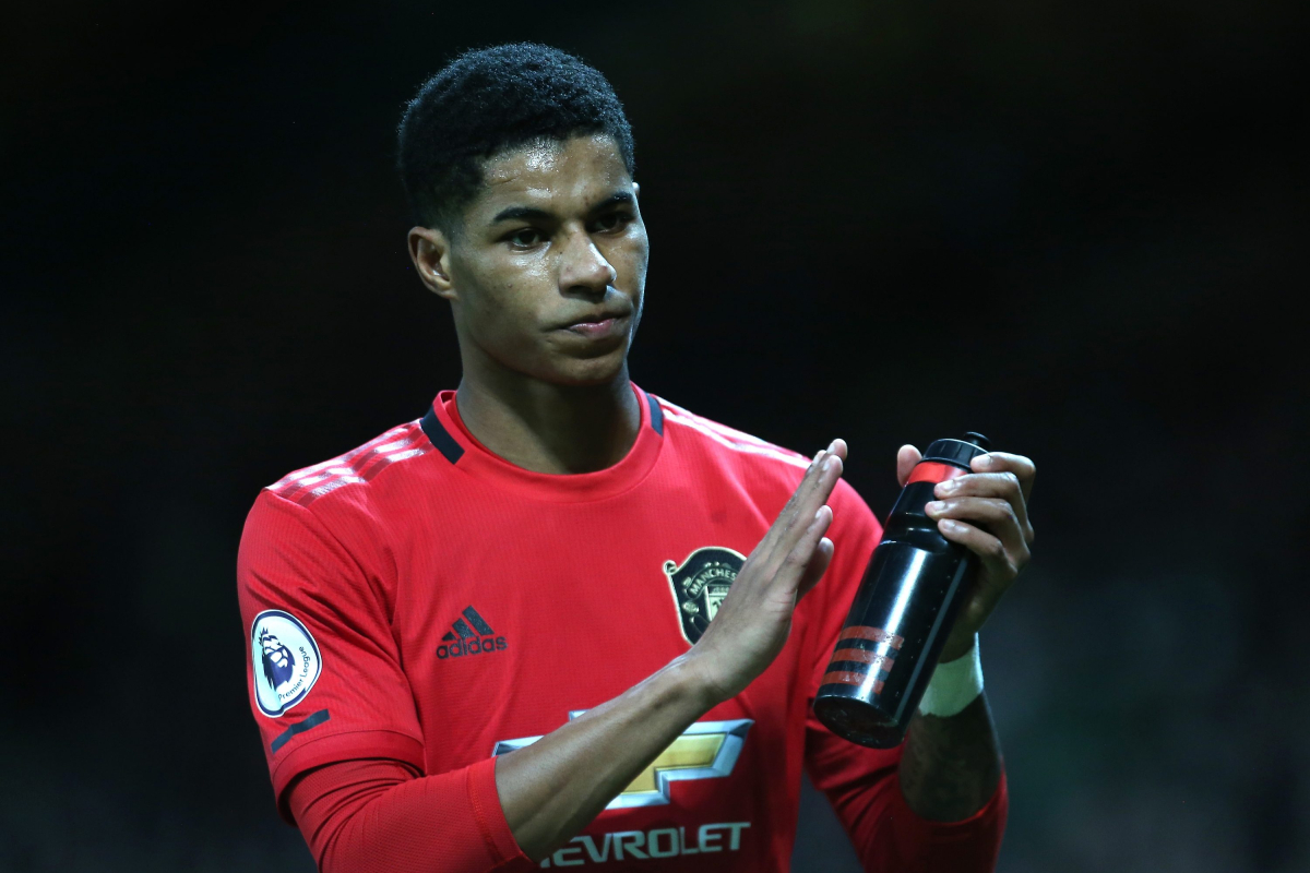 Marcus Rashford says he will never leave Manchester United as it 'wouldn't sit right' wearing another club's shirt