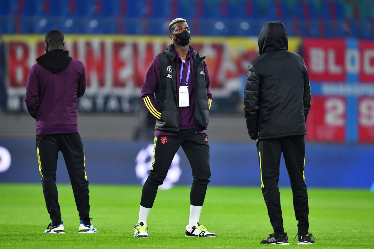 Paul Pogba BENCHED for Manchester United's crucial Champions League clash amid Mino Raiola comments