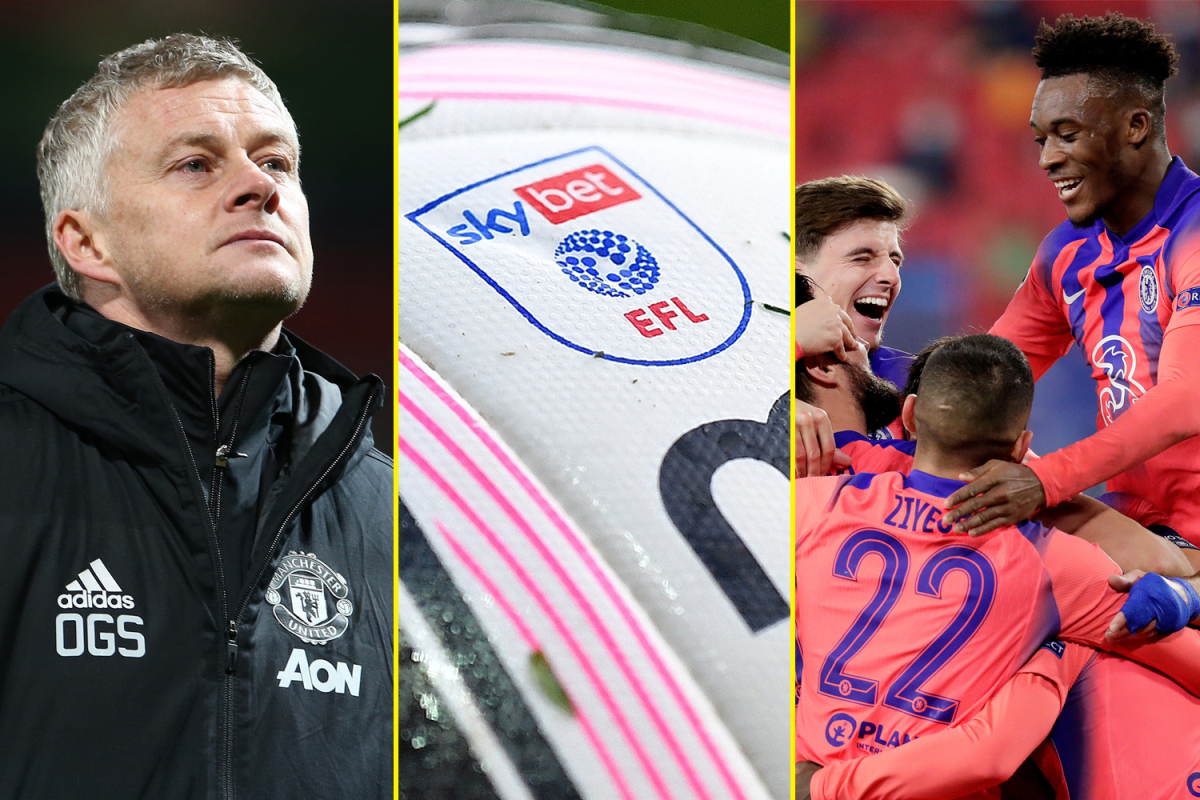 Premier League in £250m rescue deal with EFL, Solskjaer told to 'get his coat' after Man United defeat, Arsenal and Liverpool in transfer race – football and sports news LIVE