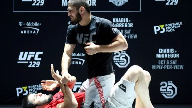 Photo of The legendary Khabib Nurmagomedov coaching session that noticed him break eight successive companions as he targets the legendary standing Mike Tyson and Muhammad Ali take pleasure in