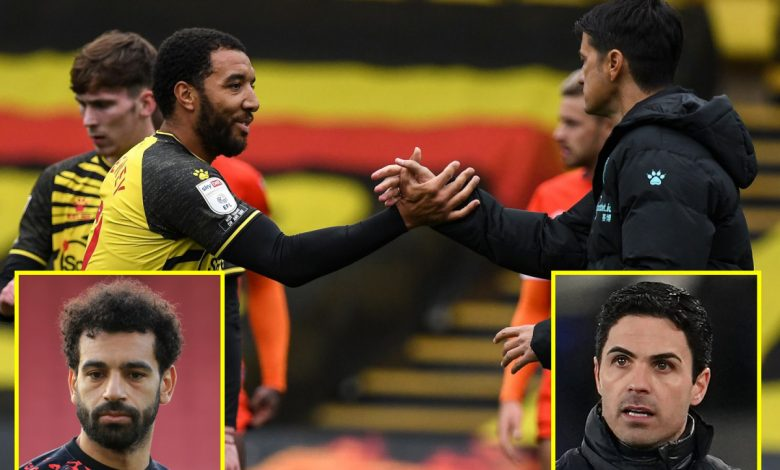Transfer news and football gossip LIVE: Liverpool 'consider selling unhappy Salah', Deeney on 'discipline issue' and being dropped, Arteta leading sack race