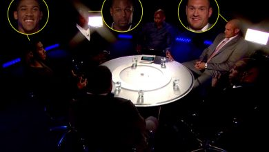 Photo of Watch Anthony Joshua, Tyson Fury and Lennox Lewis full 'Gloves Are Off' dialog again in 2013