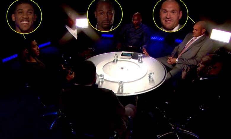 Watch Anthony Joshua, Tyson Fury and Lennox Lewis full 'Gloves Are Off' conversation back in 2013