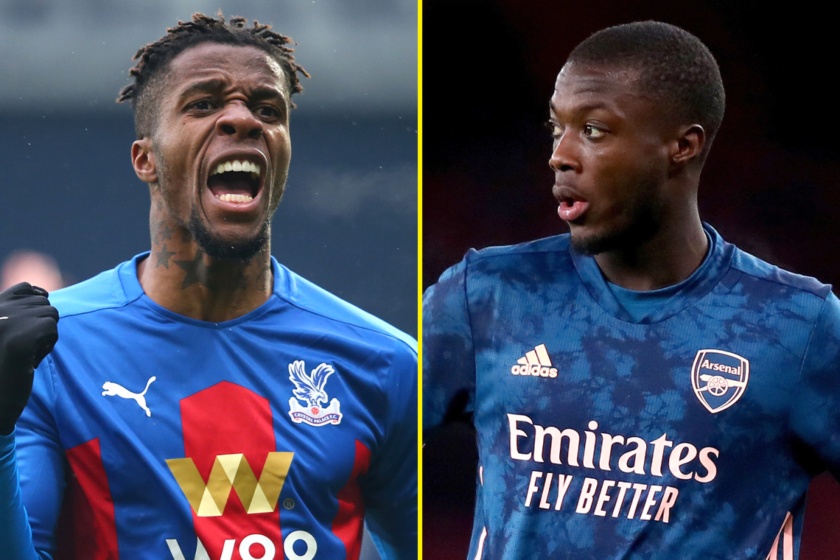 Wilfried Zaha heroics leave Arsenal ruing not signing Crystal Palace ace as Gunners legend explains where Nicolas Pepe is going wrong