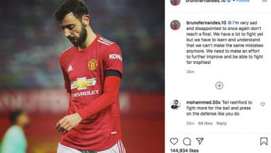 Photo of Bruno Fernandes points rallying cry to Manchester United teammates as Paul Pogba blames 'particulars' for contemporary semi-final defeat