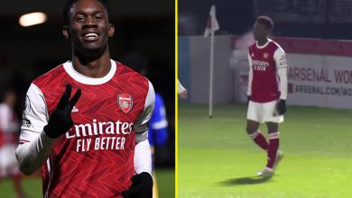 Photo of Folarin Balogun sends message to Arsenal boss Mikel Arteta minutes after Gunners crash out of FA Cup to Southampton