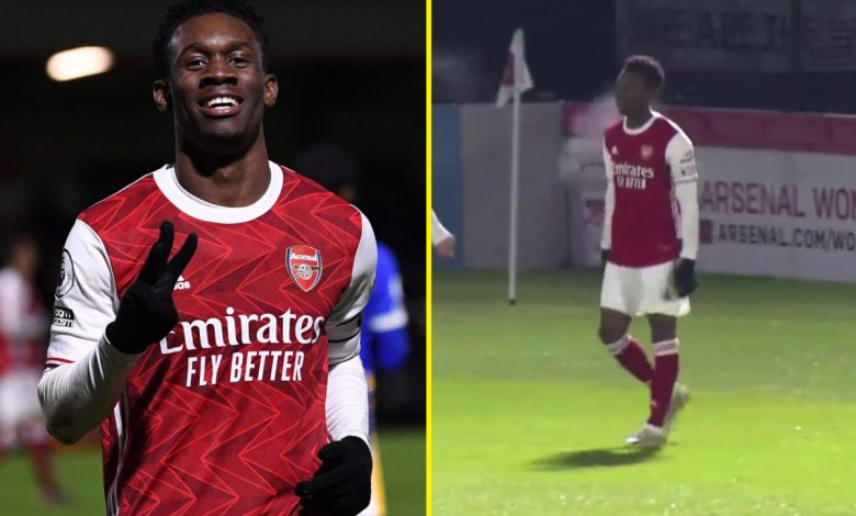 Folarin Balogun sends message to Arsenal boss Mikel Arteta minutes after Gunners crash out of FA Cup to Southampton