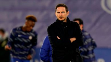 Photo of Frank Lampard admits Chelsea have been 'crushed by higher crew' following Leicester defeat as strain mounts on Blues boss