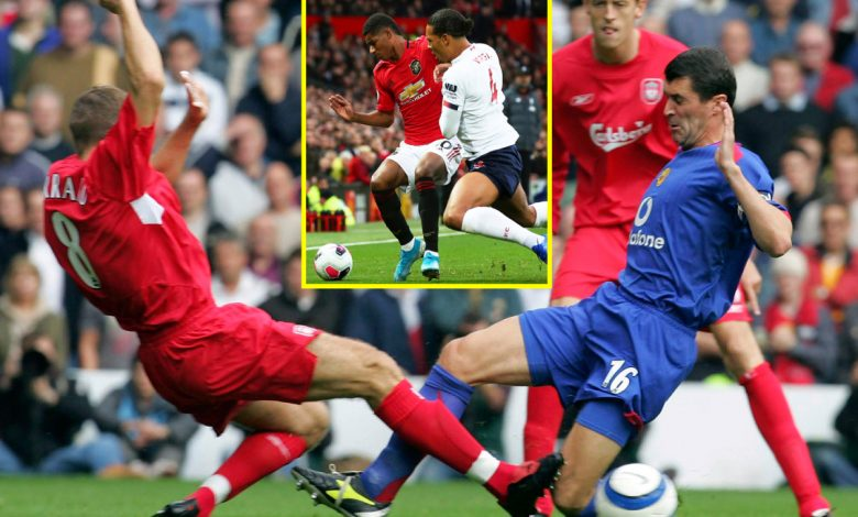 How Liverpool vs Manchester United went from Roy Keane vs Steven Gerrard to the 'friendliest derby' in the UK
