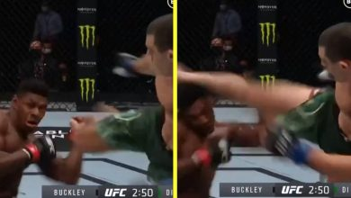 Photo of Joaquin Buckley savagely knocked out on Battle Island by Alessio Di Chirico – simply months after successful UFC KO of the Yr