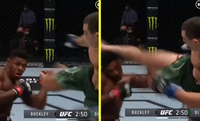 Joaquin Buckley savagely knocked out on Fight Island by Alessio Di Chirico – just months after winning UFC KO of the Year