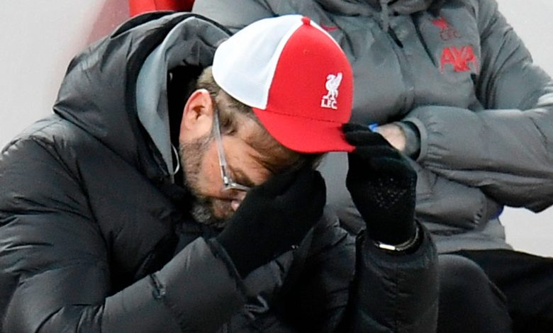 Jurgen Klopp says he's at fault as Liverpool are beaten by Burnley in 'impossible to lose' match and impressive home record is ended