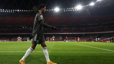 Photo of Manchester United star Marcus Rashford speaks after receiving racist abuse on social media following draw with Arsenal