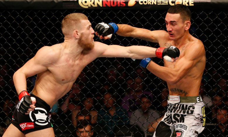 Max Holloway 'intrigued' by Conor McGregor rematch and recalls 'cool' moment the pair shared before their UFC fight in 2013