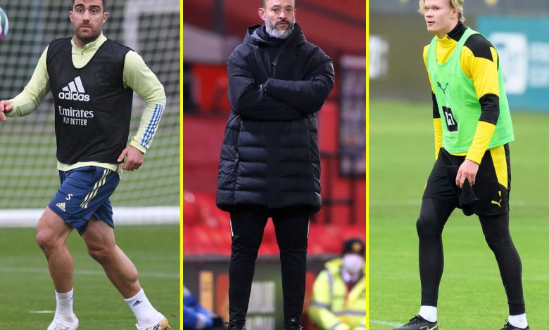 Transfer news LIVE: Man United and Chelsea on red alert over Erling Haaland, Liverpool 'offered chance' to sign Arsenal defender, Aston Villa vs Everton postponed