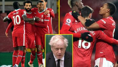 Photo of Boris Johnson assaults Premier League 'large six' over European Tremendous League plans as UEFA model it a 'cynical mission' and warn gamers face being BANNED