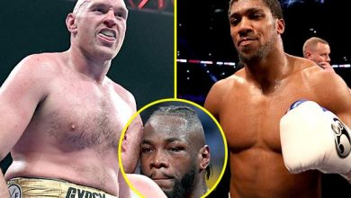 Photo of Tyson Fury insists Anthony Joshua struggle is larger than Lennox Lewis vs Mike Tyson and calls Deontay Wilder a 'piece of s***' in passionate interview