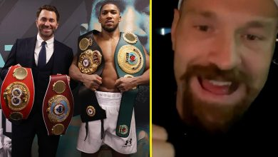 Photo of Anthony Joshua and Tyson Fury have lastly agreed on a website for title struggle, says Eddie Hearn