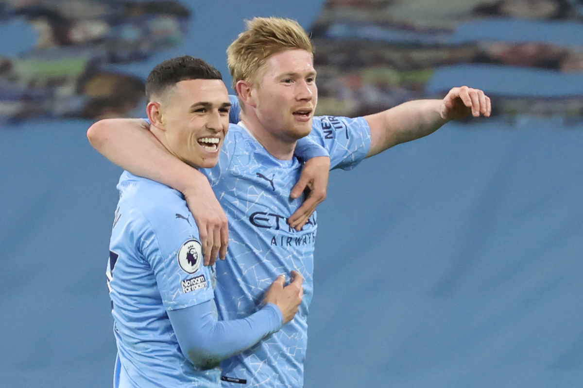 Phil Foden has to be picked for England, thinks Kevin De Bruyne, who says Three Lions are one of favourites for Euro 2020 and tips teammate to star for country and Man City for next 15 years