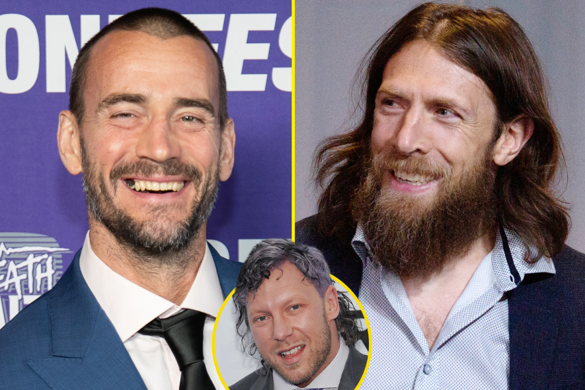 Kenny Omega comments on reports Daniel Bryan and CM Punk are joining AEW