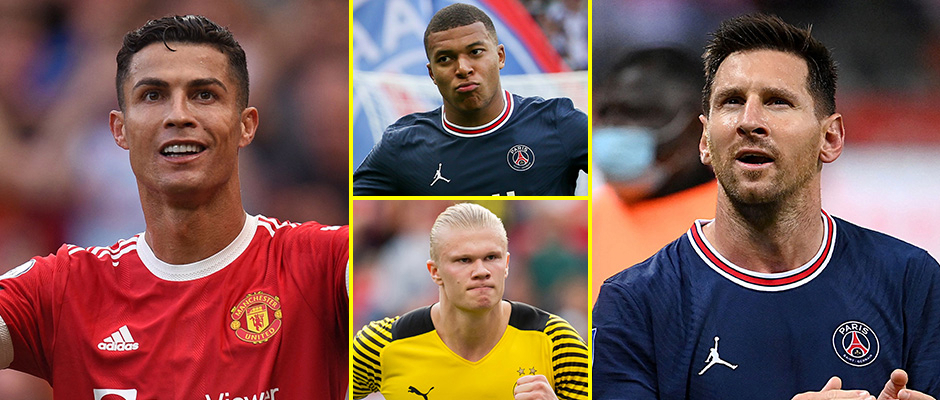 Cristiano Ronaldo and Lionel Messi love the Champions League and the Manchester United and Paris Saint-Germain forwards are not ready to step aside for Erling Haaland and Kylian Mbappe yet
